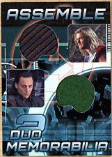 2012 Upper Deck Avengers Assemble Costume Card AD-22 - Loki Thor