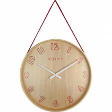 Boyle NeXtime Modern Indoor Stylish Wall Clock Loop - Red