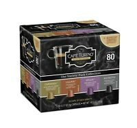 Nespresso Compatible 80 Count Italian Style Espresso Cafe Turino Variety Pack