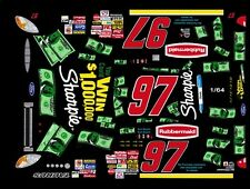 #97 KURT BUSCH Win a Million 2002 1/64th HO Scale Slot Car Waterslide Decals