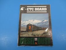 CTC Board Magazine (Railroads Illus.) May 1989 Diesel & Dust Western Pac M4025