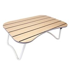 Portable Laptop Desk Bed Stand Notebook Folding Table Lap Tray - Maple