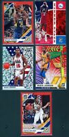 2019-20 Panini Prizm Optic Red Wave Lot. Malone, Magic Rare SSP Tmall Lot.