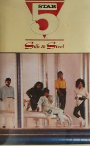 Five Star-Silk And Steel Cassette.1986 Tent PK 71100.Rain Or Shine/Find The Time