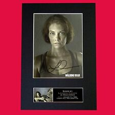 MAGGIE GREENE The Walking Dead Signed Autograph Mounted Photo Repro A4 Print 635