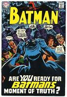 BATMAN #211 F/VF, DC Comics 1969
