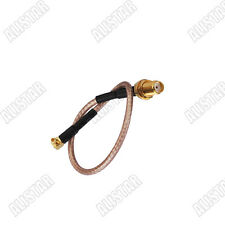 SMA female Jack to MMCX male plug RF pigtail Jumper cable RG316 WiFi Antenna