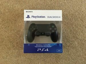 New Sony Official PS4 Dualshock 4 V2 Controller Brand New in box Black