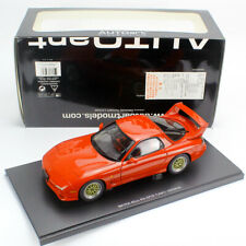 Autoart 1/18 Mazda Enfini RX-7 FD Tuned Version JDM Die-cast Model Car Red