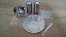 More details for stelton cylinda-line salt and pepper set boxed and unused arne jacobsen