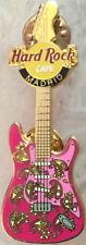 Hard Rock Cafe MADRID 2003 MEMORABILIA GUITAR Series PIN Pink Paisley HRC #19438