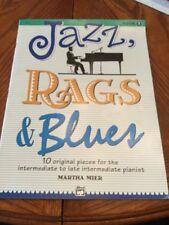 Jazz, Rags & Blues Book 3 Piano Sheet Music Martha Miner