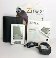 Palm Zire 21 Handheld Palm Pilot Pda White Complete w/ Accessories - Please Read