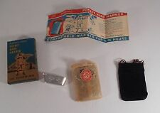 WWII Era Peacock Peterson's Junior Pocket Hand Warmer in Box NOS Made in Japan