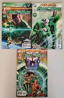 Flashpoint Abin Sur Green Lantern 1 2 3 DC Complete Set Series Run Lot 1-3 VF/NM