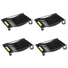 4x Auto Rangierhilfe für PKW 900 kg Rangierroller Rangierwagenheber Wagenheber y