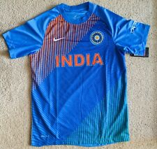 NWT Original Nike Dri-fit India Cricket Team T20 Jersey T-shirt MLXL Freeship