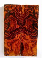 Loupe de bois de fer d'Arizona, Ironwood Burl, plaquettes coutellerie