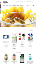 Vitamins & Supplements Website Business For Sale Unlimited Stock SALE