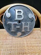 More details for vintage british thomson houston metal sign