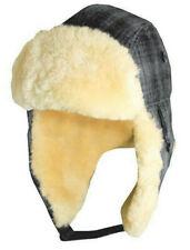 WOOLRICH HERITAGE * MEN WINTER WOOL TRAPPER HAT XL * SHEEPSKIN LINED BOMBER SNOW