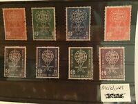 Maldives Islands mounted mint pollution control stamps R21406