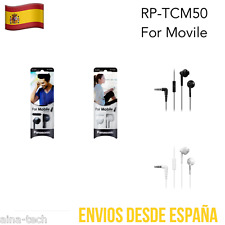 Auriculares PANASONIC RP-TCM50 Manos Libres Micrófono Universal Control Volúmen
