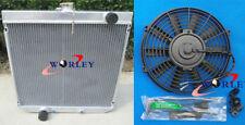"""FOR ALLOY ALUMINUM RADIATOR XY/XW FORD FALCON 302/250 V8/L6 & 16"""" FAN"""