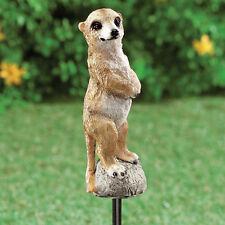 Adorable Meerkat Garden Stake - MEERKAT GARDEN FIGURE - Meerkat Plant Ornament