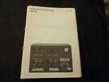 Original Service Manual Schneider MIDI 2100