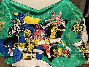Vintage ERO Power Rangers Childrens Slumber Tent Playhouse kids vinyl tent Rare