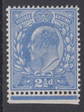SG 283 2 1/2d Bright Blue M18 (2) double gum very fine & fresh UM Hendon (17868)