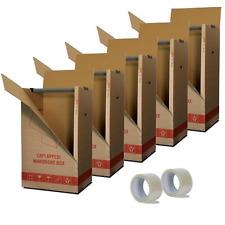 Imballaggi2000 Kit 5 Scatole Cartone Porta Abiti Capi Appesi cm. 50x60 H 111 con