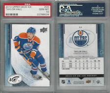 2013 Upper Deck Ice Hockey, #34 Taylor Hall, Oilers, PSA 10 Gem
