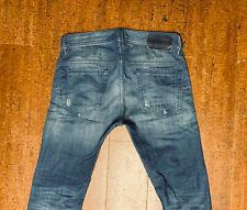 DIESEL Thavar 823U Slim Skinny Fit Mens Blue Jeans 29/32