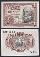 España - Spain  1 Peseta 22-7-1953 Pick 144 SC = UNC