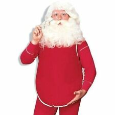 Rubie's Christmas Fillable Santa Belly, Red, One Size Adult Costume