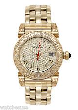 Aqua Master Rose Gold-tone Stainless Steel Gold Dial Diamond Women's Watch W#88