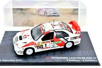 Model Car Mitsubishi Lancer Evo IXO Scale 1/43 diecast Rally collection