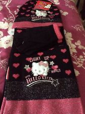 Hello Kitty Girls Hat, Scarf and Gloves Set. New with tags.