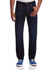G Star RAW 3301 Straight Leg Jeans in DK Aged Bicc Denim, Size W32/L34 BNWT $220