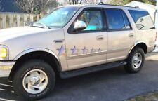 1997-2002 Ford Expedition Stainless Steel Fender Trim