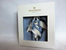 Angel with Star - White & Blue Wedgewood Christmas Ornament - in Box, Exc. Cond.