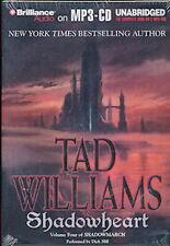 Audio book - Shadowheart by Tad Williams   -   MP3-CD