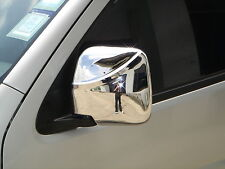 DOOR SIDE MIRROR COVER CHROME FOR  TOYOTA HIACE 2004-2007