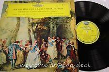 """deutsche grammophon: PIERRE FOURNIER NM BACH & BOCCHERINI STEREO LP (VG) 12"""""""