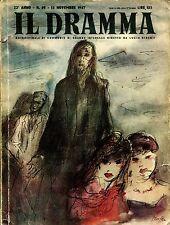 IL DRAMMA n° 49 1947 Viola Maeterlinck Bragaglia Pandolfi Simoni Ill Tofano Wild