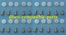 Land Rover Discovery 1 Carpet Trim Mounting Nuts & Screws A2 SS x 20