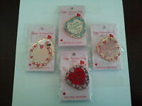 Disney Valentine Sweetheart Pin Set WDW Limited Edition Mickey, Minnie, Princess