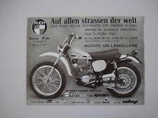 advertising Pubblicità 1975 MOTO PUCH MC 125 LAMELLARE